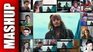PIRATES OF THE CARIBBEAN 5: Dead Men Tell No Tales Trailer 3 Reactions Mashup