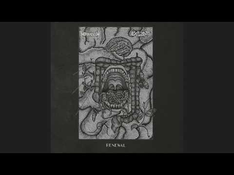 Moribund Scum // Exilent -  Renewal (SPLIT LP 2018)