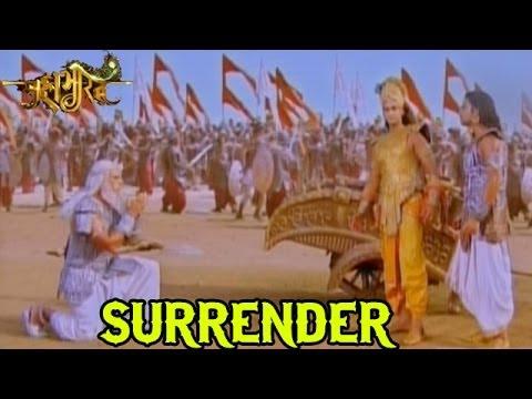 Mahabharat Omg Arjun Makes Bhishma Surrender 25th June 2014 Full Episode Youtube