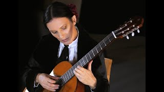 Spanish Romance classical guitar (Romanza) performed by Marija Agic