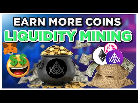 Earn MORE COINS Liquidity Mining Cryptocurrency!