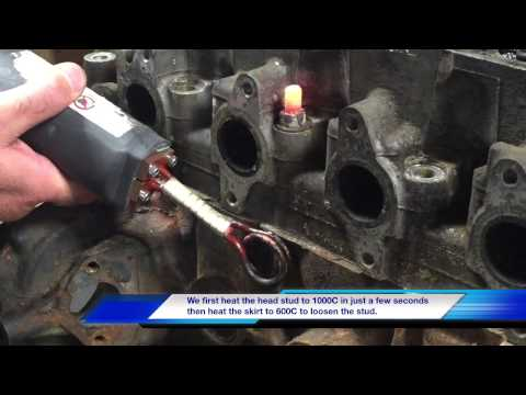 Induction Heating of Seized Bolts