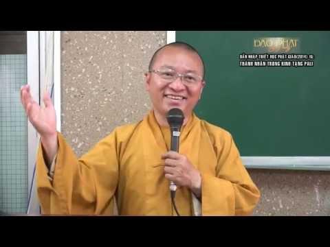 Dẫn nhập Triết học Phật giáo (2014) 15: Thánh nhân trong kinh tạng Pali
