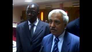 Prof. Joshi in Burkina Faso on Promoting International Trade