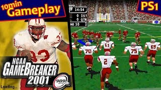 NCAA Gamebreaker 2001 ... (PS1) 60fps