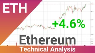 Ethereum Price Up With 4.6%
