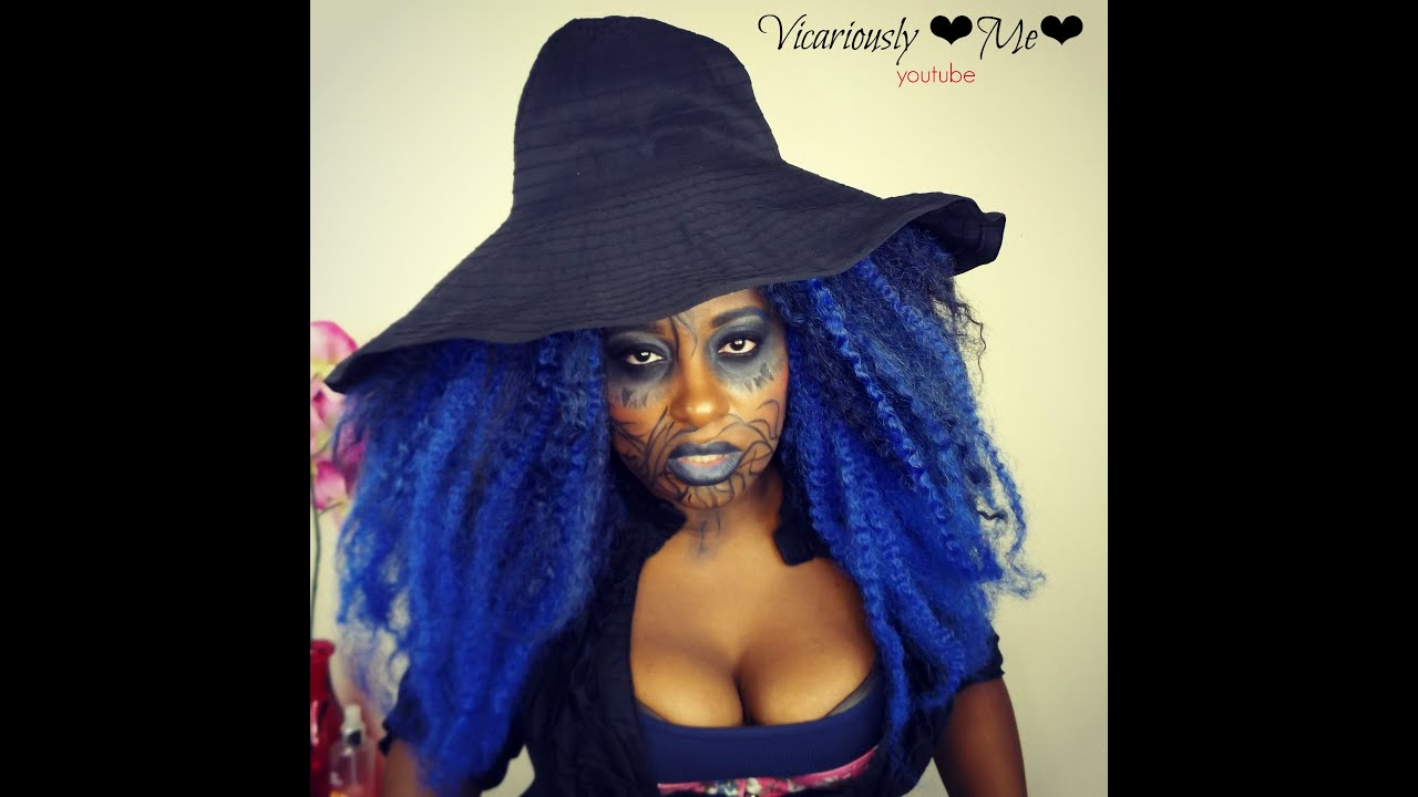 Black witch halloween makeup tutorial idea 2015 qualah black witch halloween makeup tutorial idea 2015 qualah vicariouslyme baditri Images