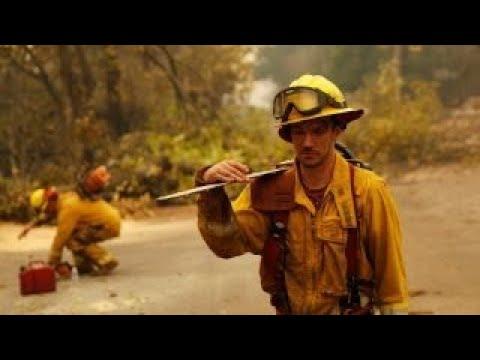 Devastating wildfires in California