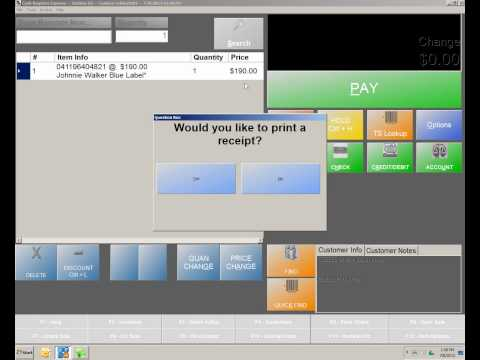 Cash Register Express (CRE) Overview