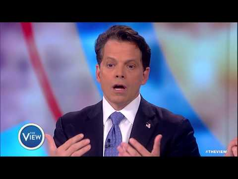 Anthony Scaramucci on Spicer's Notebooks, Russia Probe And Why He Stands By Trump | After The View