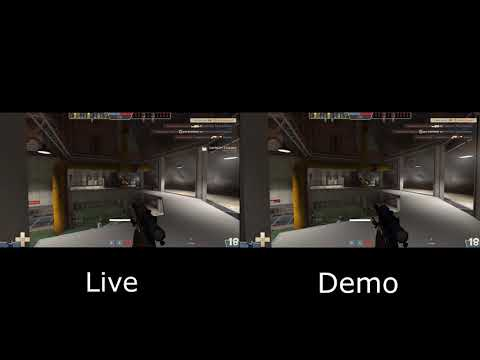 [TF2] Live recording vs. Demo recording