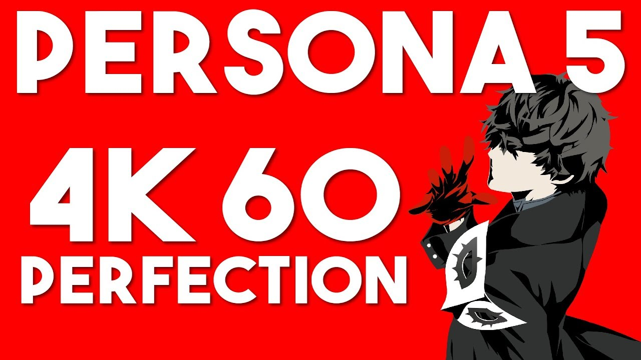 Persona 5 now Runs 4K 60 Locked on RPCS3 | Destroys the PS4 Version