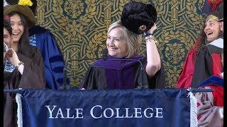Hillary Rodham Clinton, 2018 Yale Class Day Speaker