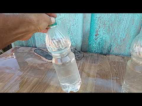 Ещё раз про капельный полив с помощью пластиковой бутылки.