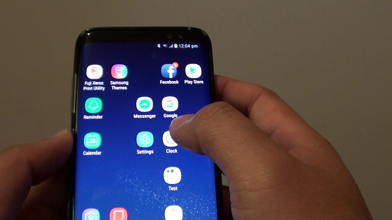 Samsung Galaxy S8: How to Open Up a Secure Folder