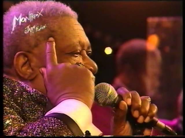 Rudy Rotta ospite di B.B. King al Festival di Montreux 2001