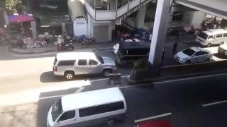SUV counterflow in Edsa
