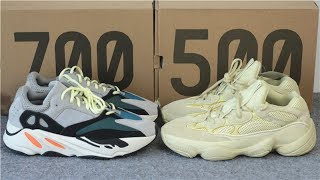 125b5f6877616 Yeezy 500 Vs 350 Comparison