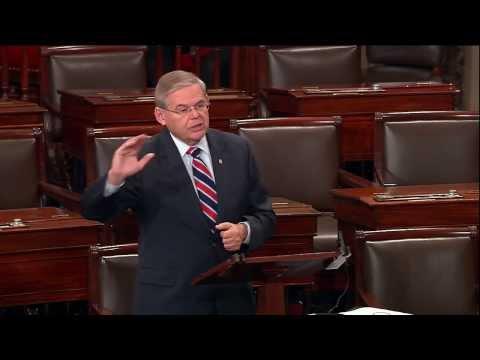 Senator Menendez Speaks about Flood Insurance on the Senate Floor