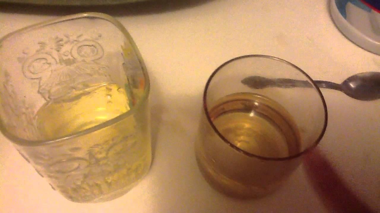 vinegar pregnancy test positive and negative