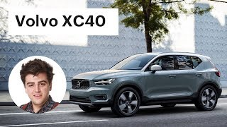 Новая Volvo XC40 - первый обзор на русском / Вольво ХС40