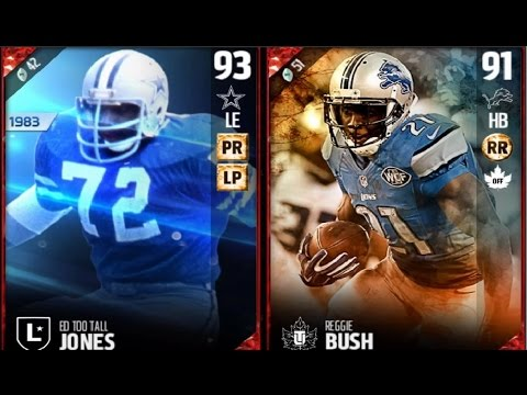 "Legend Ed "" Too Tall"" Jones & Thanksgiving Reggie Bush 