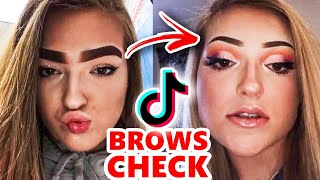TikTok Boys & Girls: EYEBROW CHECK 👀🙄😕