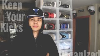 How To Organize Your Sneaker Collection!
