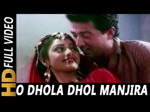 O Dhola Dhol Manjira Baje | Suresh Wadkar, Asha Bhosle | Joshilaay 1989 Songs | Sridevi, Meenaksi