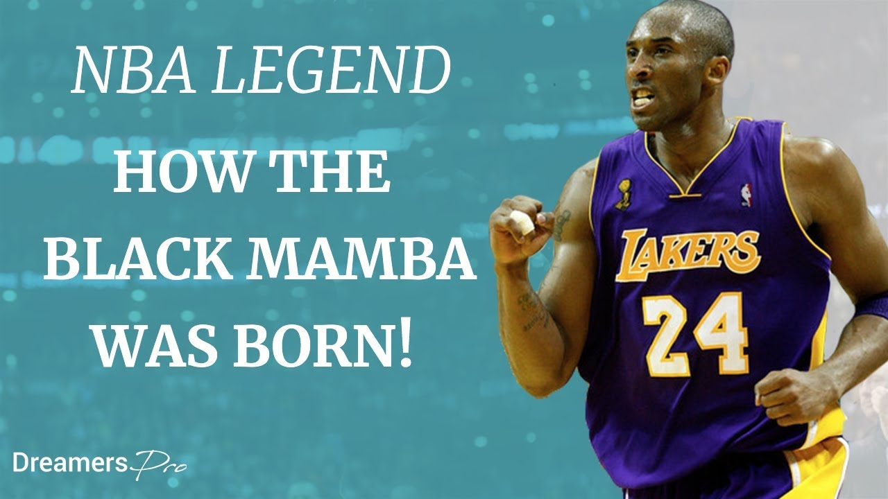 Download Kobe Bryant - How The Black Mamba Was Born - NBA Legend
