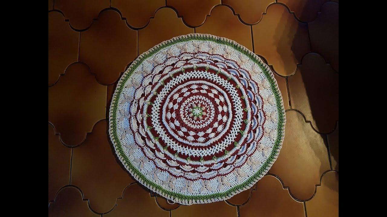 Amazing Grace Mounted Mandala Häkeln Diy Cal Youtube