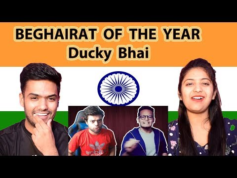 Indian Reaction on Ducky Bhai video | BEGHAIRAT OF THE YEAR | Swaggy d