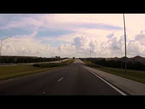 Disney's Magical Express route - Drive from Orlando International Airport (MCO) to Walt Disney World
