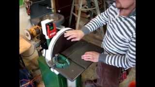 Diy Disc Sander 15 Inch Custom Made, How I Did It