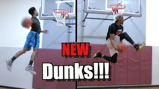"""5'11"""" Tyler Currie & 6'2"""" Chris Staples Try Out New Dunks! Video"""