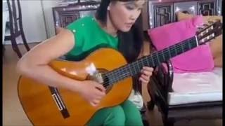 Serenata composed by Cuong Manh Nguyen Guitar by Nguyen Phuong Thao