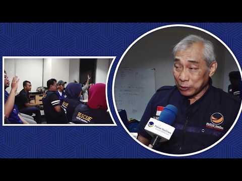Badan Rescue NasDem Kirim 20 Tenaga Medis Gelombang 2 ke Palu