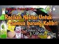 Racikan Nektar Kolibri Ninja Anti Nyilet Bikin Gacor  Mp3 - Mp4 Download