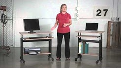 Safco Muv Adjustable Height Workstation