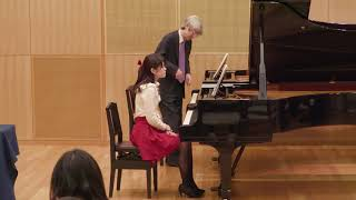 レッスン公開 ピアノ:安田正昭 准教授|上野学園大学 2017年11月26日オープンキャンパス
