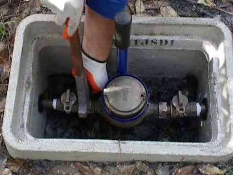 How To Change A Curb Stop Valve Live Doovi