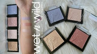 New Wet N Wild MegaGlo Highlighters | Review and Swatches!