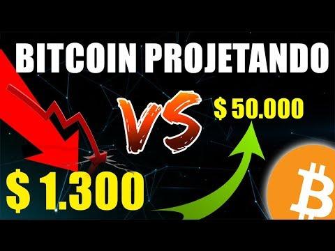Bitcoin Poderá Cair Para $ 1.300 Ou Decolar Para $50.000 – Entenda O Principal Motivo
