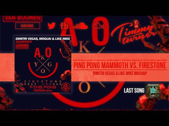 AvB vs BoostedKids MokeyBros - Ping Pong Mammoth vs Firestone