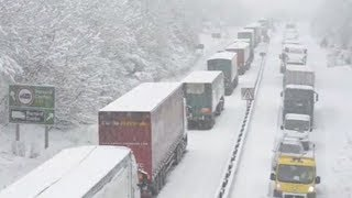 Snow causes chaos in County Durham