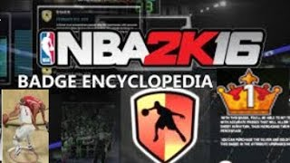 NBA2K16 Ankle Breaker Tutorial|All Badges for Ankle Breakers