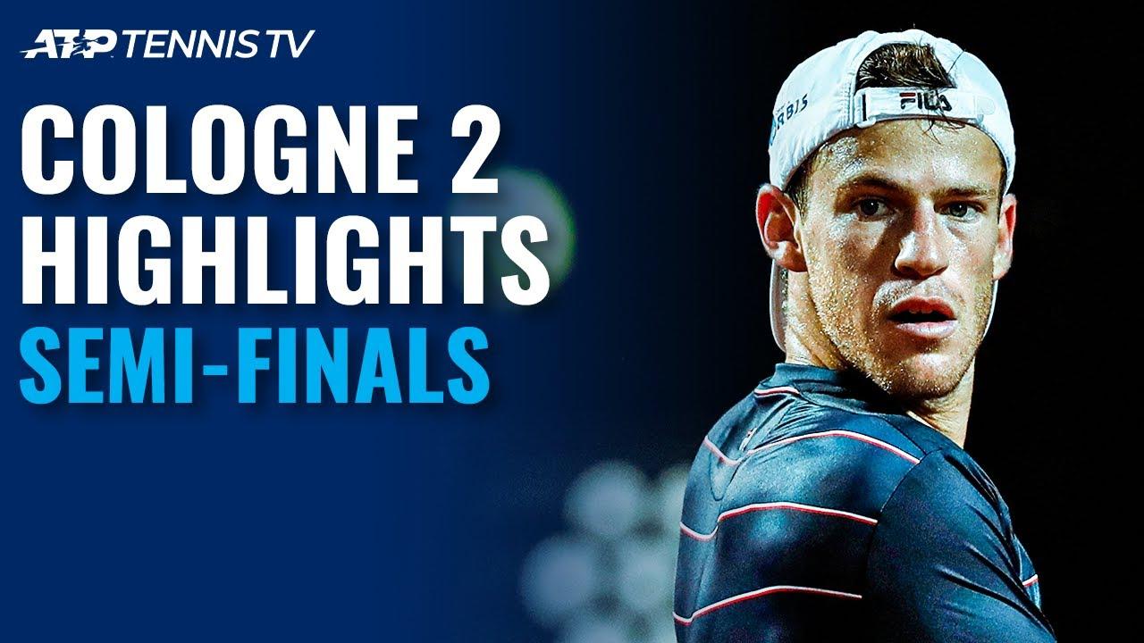 Zverev Stops Sinner; Schwartzman Defeats Auger-Aliassime | Cologne 2 Semi-Final Highlights