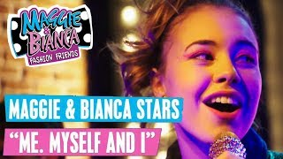 MAGGIE & BIANCA Fashion Friends 🎵 Me, Myself and I   Disney Channel Songs