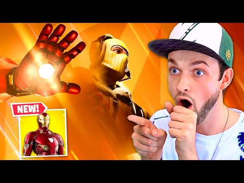 *NEW* IRON MAN in Fortnite!
