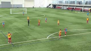 UEFA A SESSION 2016 ATTACKING FROM WIDE AREAS COACH RAJAB NOOR